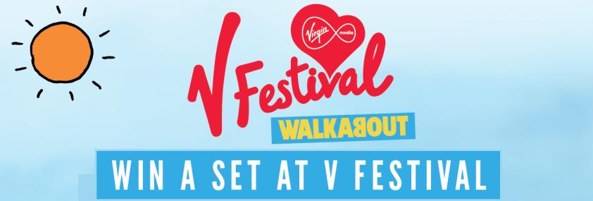 V Festival win a slot